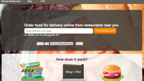 Delaware Gets a New Food Delivery Service