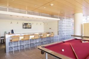 Billiards at ResideBPG Apartments in Wilmington