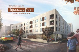 Picture of new Wilmington apartments for rent at Mid-town Park