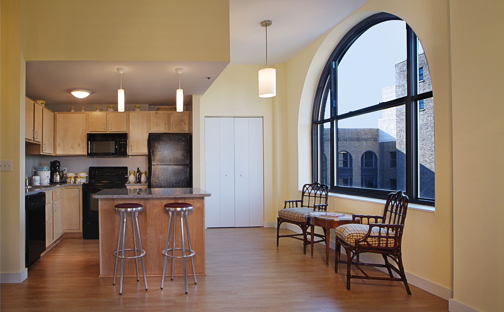 The Residences at Rodney Square Kitchen