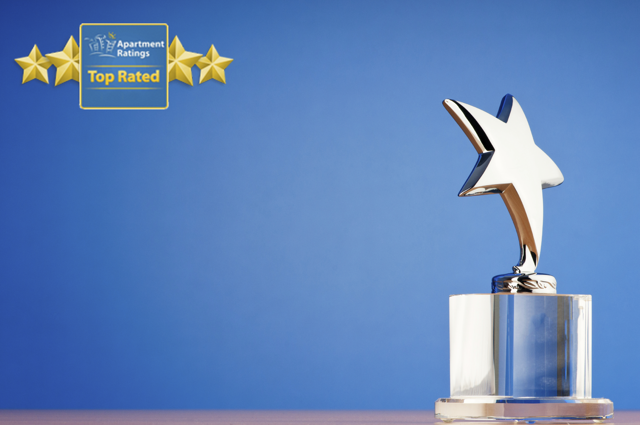 Three ResideBPG Properties Received An Award from ApartmentRatings.com!