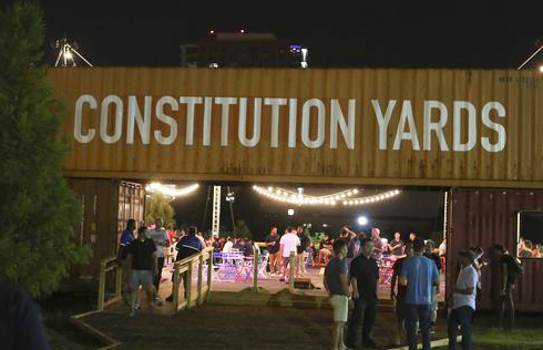 The Constitution Yards Beer Garden Is Shaping Up to Be This Summer's Hottest Hangout
