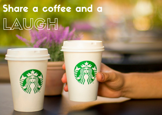 Share a Coffee and a Laugh with Missy Grynkiewicz at Starbucks® on the Riverfront