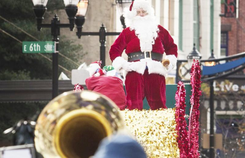 Christmas Parade Kicks Off The Holiday Season In Wilmington