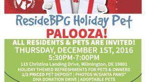 ResideBPG Holiday Pet Palooza- All Residents and Pets Welcome