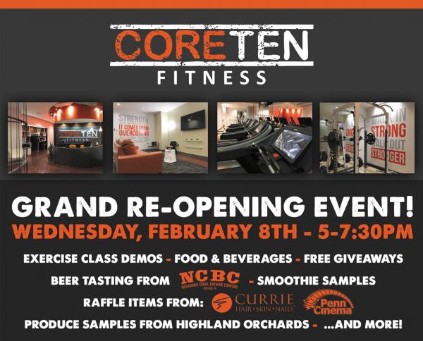 Come See the Brand NEW CoreTen Fitness!