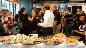 Free Appetizers During Happy Hour at Cafe Mezzanotte!