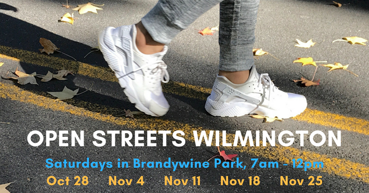 Participate in Open Streets Wilmington!