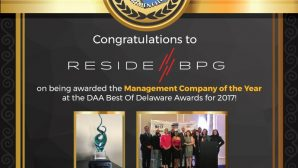 ResideBPG Awarded Management Company of the Year!