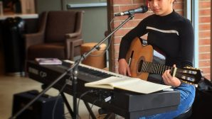 Listen to Live Music at the Starbucks on Market Street Every Weekend