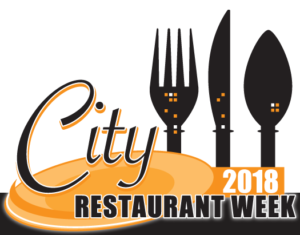 city restaurant week 2018 logo