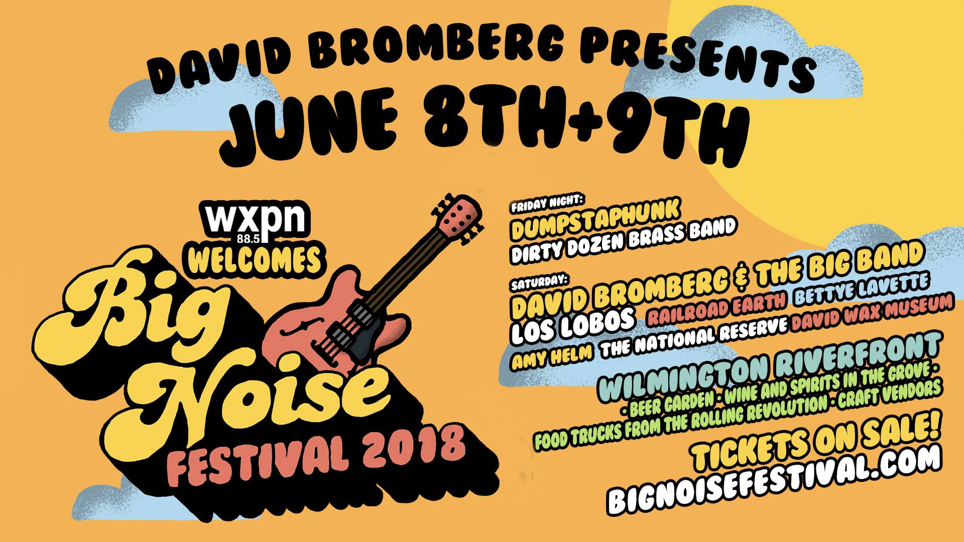 Come Get Jazzy With ResideBPG at the Big Noise Festival!