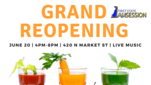 Grand Reopening of Wilmington Green Box on Market Street