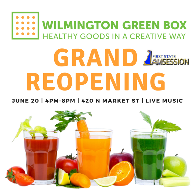 Wilmington Green Box Grand Reopening