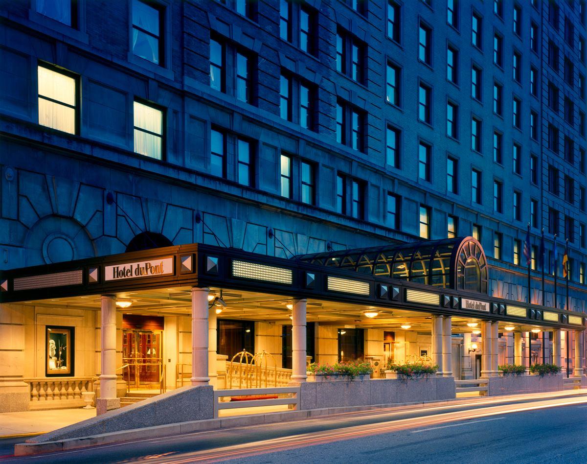 hotel du pont exterior