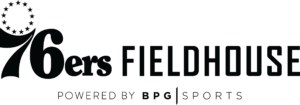 76ersFieldhousePoweredByBPGsports_black Logo