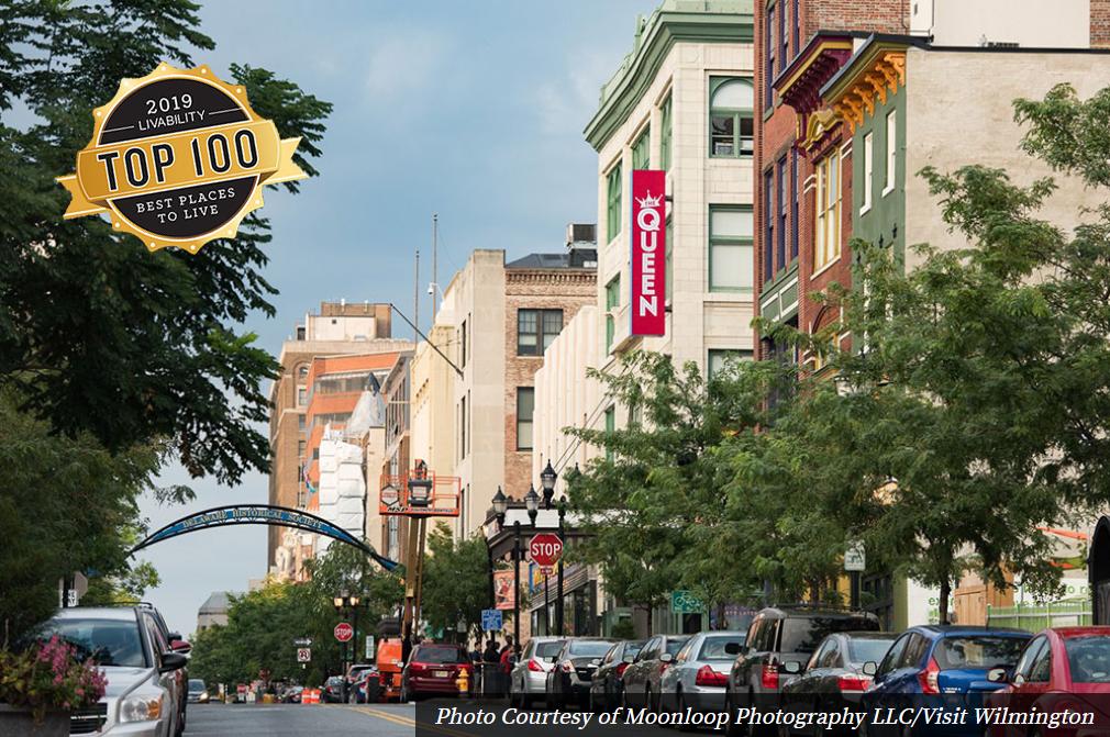 Livability's 2019 Top 100 Best Places to Live Features Wilmington, DE