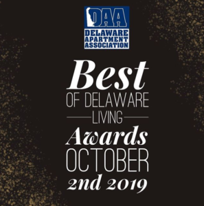 DAA Best of Delaware Living 2019 graphic