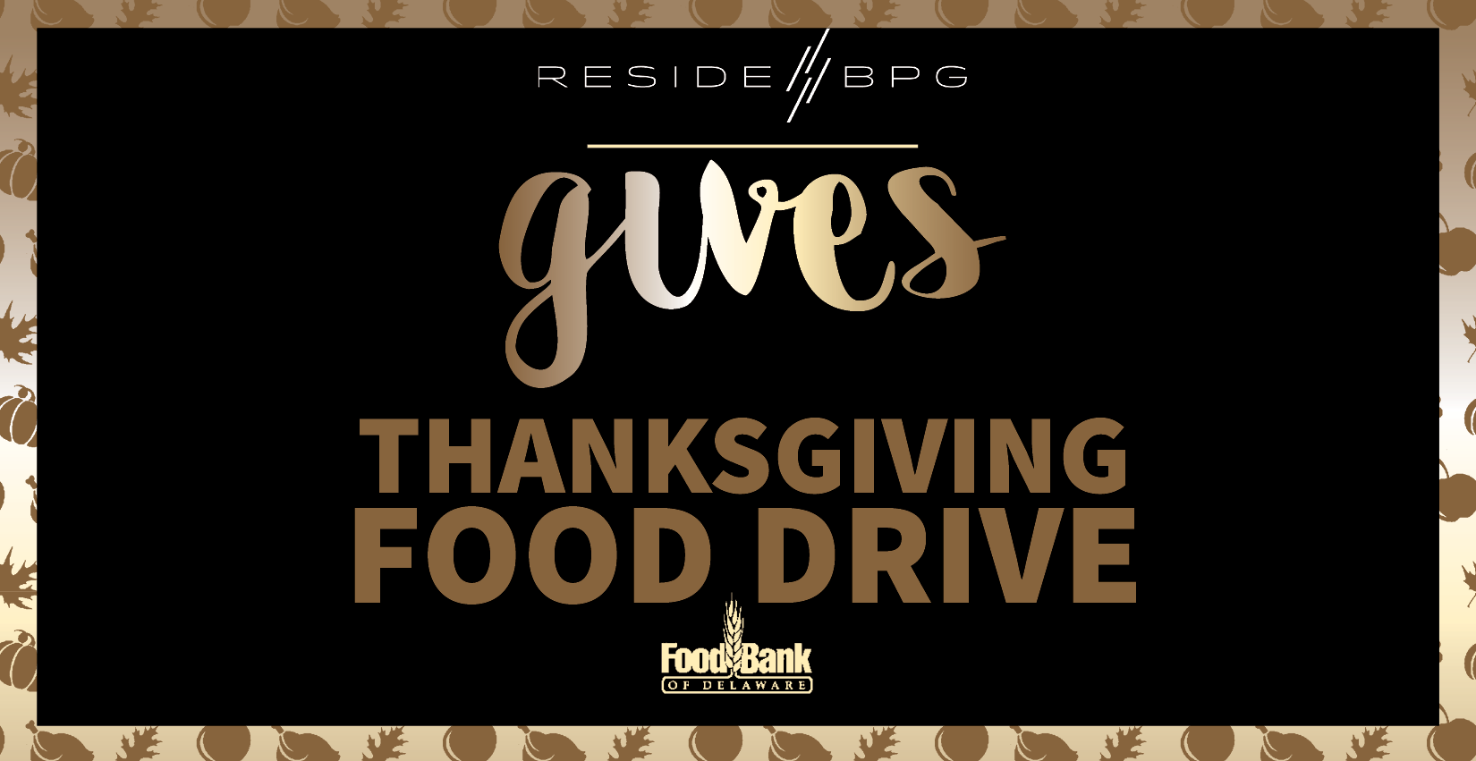 Support the Food Bank of Delaware: ResideBPG Hosts Annual Thanksgiving Food Drive
