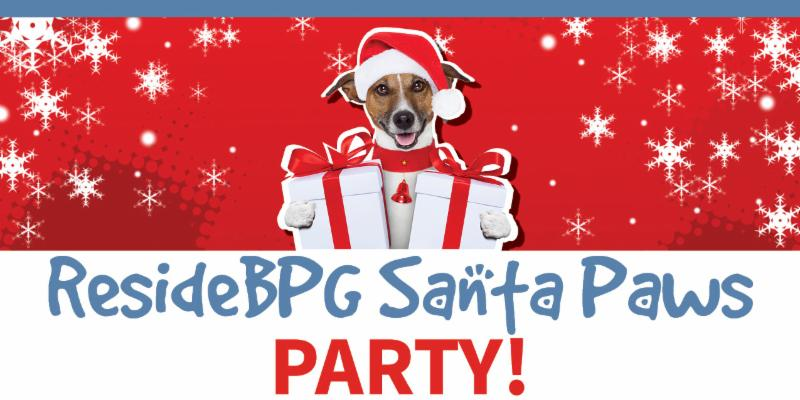 Annual ResideBPG Santa Paws Party Benefiting DHA