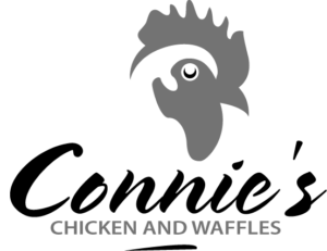 Connie's Chicken and Waffles logo