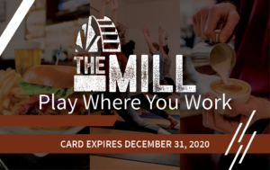 The Mill Members Perks Discount Card