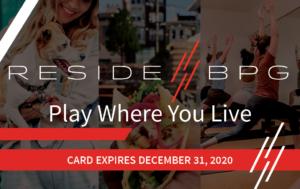 ResideBPG Residents Perks Discount Card