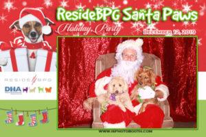 ResideBPG Pet Photos with Santa