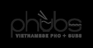 Phubs Vietnamese food logo