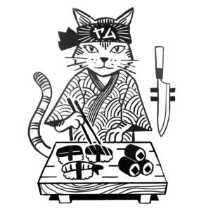 Als Sushi logo cat