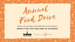 Residebpg annual food drive