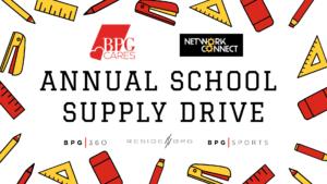 BPG Cares School Drive